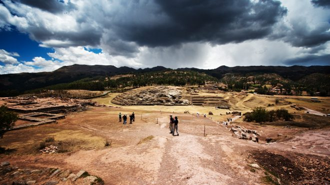 The weather in Cusco during rainy season